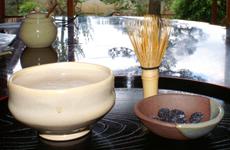 茶筅で泡立てた和風コーヒー