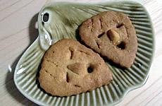 木製仮面クッキー